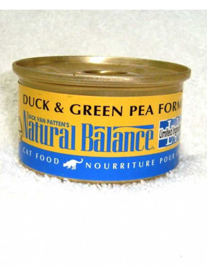 Natural Balance Duck & Pea Can Cat Food