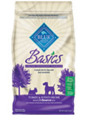 Blue Buffalo Basics Turkey Dog Food 24 Lb.