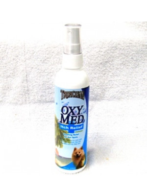 TropiClean OxyMed Anti-Itch Spray 8oz