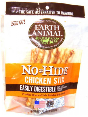 Earthan No Hide Chic Chew 10pk
