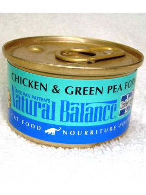Natural Balance Chicken/Pea LID Wet Cat Food