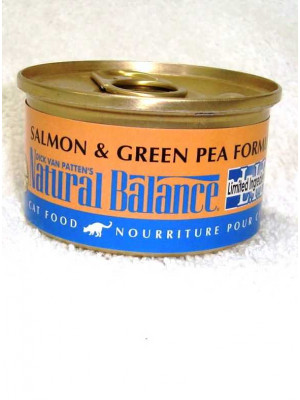 Natural Balance Salmon & Pea Can Cat Food