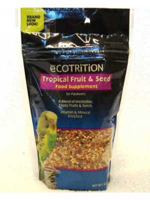 Parakeet Tropical Fruit And Seed Supplement
