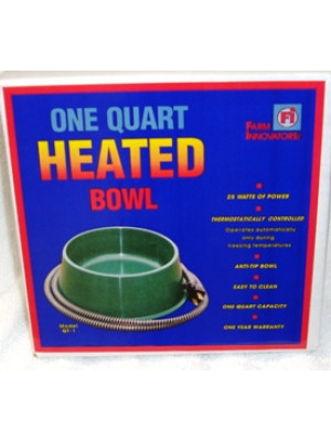 Heated Pet Bowl 1 Qt