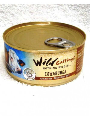 Wild Calling Cowabunga Beef Cat Food