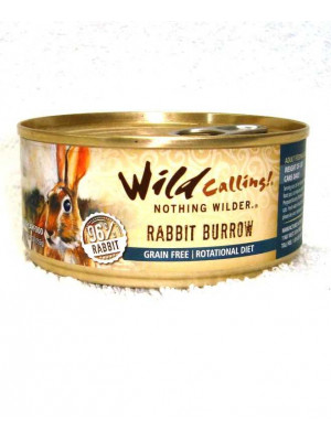 Wild Calling Rabbit Burrow Can Cat Food
