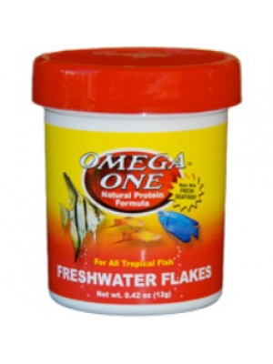 Omega One Freshwater Flakes .42 Oz.