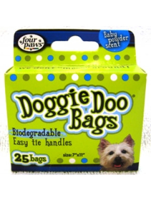 Doggie Doo Bags Baby Powder 25 Bags
