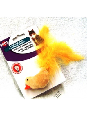 Flicker Fun Feather Bird Cat Toy