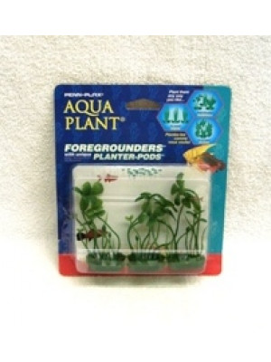 Penn Plax Aqua Foregrounder Planter Pods Clover