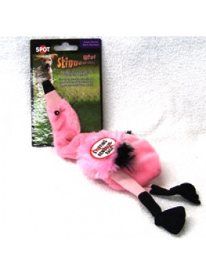 Spot Mini Skinneez Flamingo Dog Toy