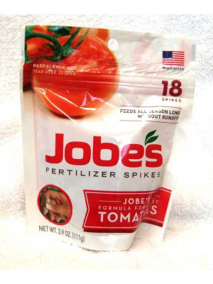 Jobes Fertilizer Spikes For Tomatoes 18 Pack