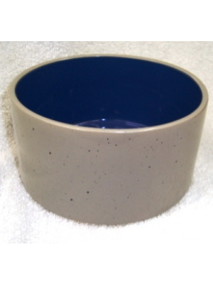 5 Inch Stoneware Crock Dog Dish