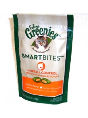 Feline Greenies Hairball Chicken Treat