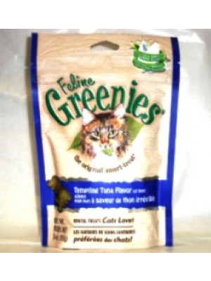 Feline Greenies Tempting Tuna Cat Treats