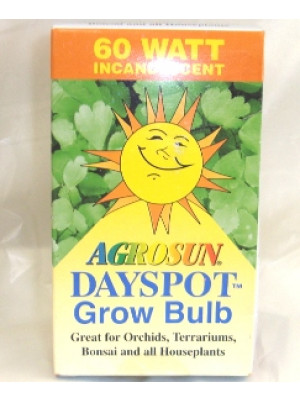 HydroFarm Agrosun 60 Watt Dayspot Grow Bulb