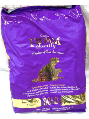 Fromm Gold Small Breed Adult Dog 15#