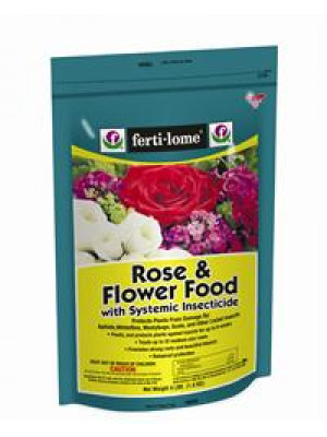 Rose Food With Systemic Insecticide 4 Lb.