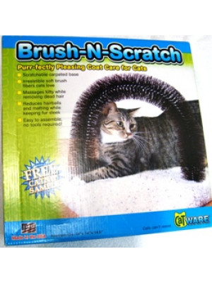 Kitty Brush & Scratch Cat Post