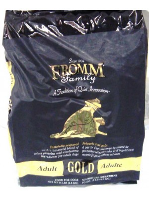 Fromm Gold Adult Dog 15#