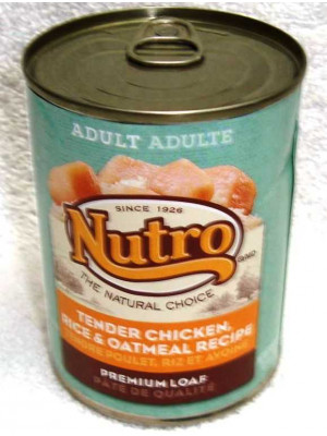 Nutro Dog Chic/Rice/Oat 12.5oz Wet Food