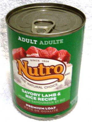 Nutro NC  Lamb/Rice  Wet Dog Food
