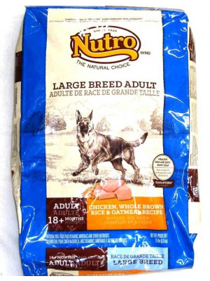 Nutro Natural Choice Large Breed Adult Dog Food15#