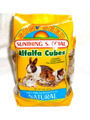 Sun Seed Alfalfa Cubes Treat