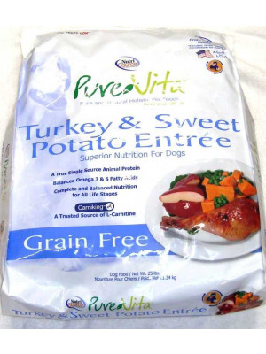 PureVita GF Turkey and Sweet Potato Food 25lb.