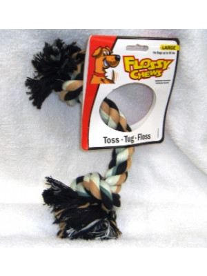 Flossy Chews Large Dog Rope Toy