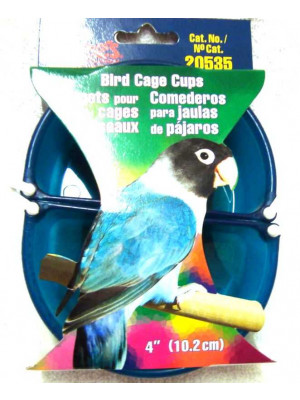 4 Inch Bird Cage Cups