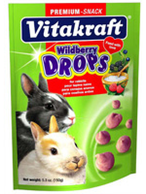 Vitakraft Wildberry Drops Rabbit Treat