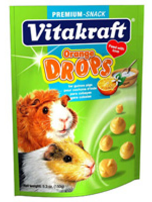 Vitakraft Orange Drops Guinea Pig Treat