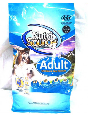 NutriSource Adult Dog Food 5#