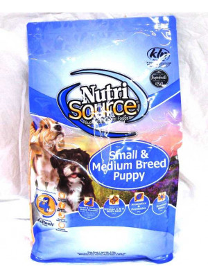 Nutri Source Puppy Sm/Med Breed 5#