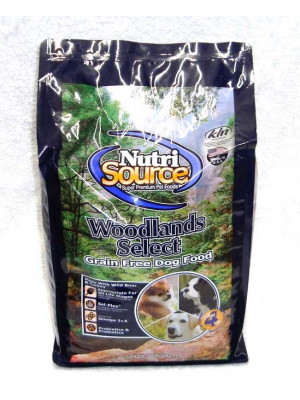 NutriSource Grain Free Woodlands Select Dog 5lbs.