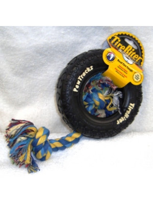 Tire Biter Small Rope Dog Toy