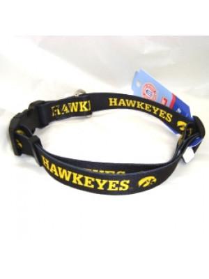 University Of Iowa Hawkeye  Adjustable Dog Collar