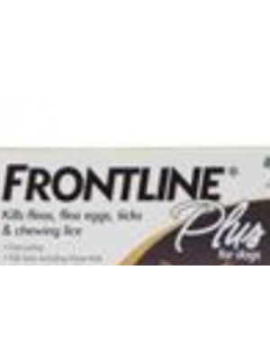 Frontline Plus Single Application Dogs 1-22 lbs.