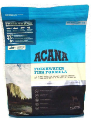 Acana  Freshwater Fish Dry Dog Food 4.5 Lb.