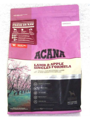 Acana Lamb & Apple Singles 4.5 Lb