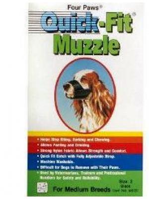 Four Paws Size 2 Quick Fit Muzzle