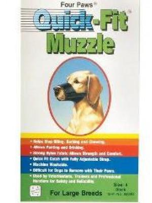 Four Paws Size 4 Quick Fit Muzzle