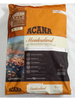 Acana Meadowlands Dry Cat Food 12 Lb.