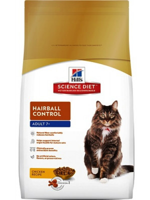Science Diet Senior Hairball Control Cat Food