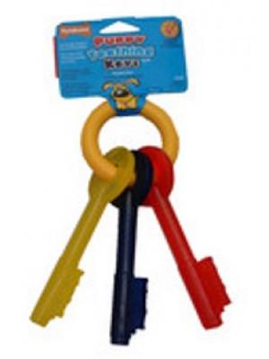 Nylabone Large Puppy Teething Keys Chew Toy