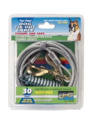 Four Paws 15' Heavy Weight Tie Out Cable