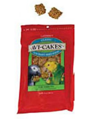 Lafeber Avi-Cakes Work 'n Chew Food Parrot