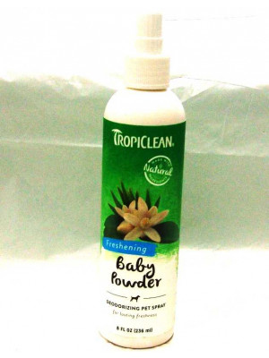 TropiClean Pet Cologne Baby Powder Scent