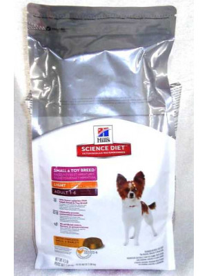 Science Diet Small & Toy Breed Light Dog Food 4.5#